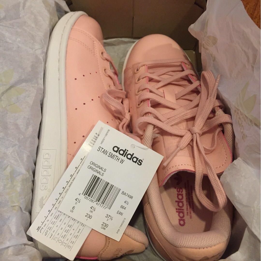c7eac353b4f2 Adidas Stan Smith W Women Pink size US 6