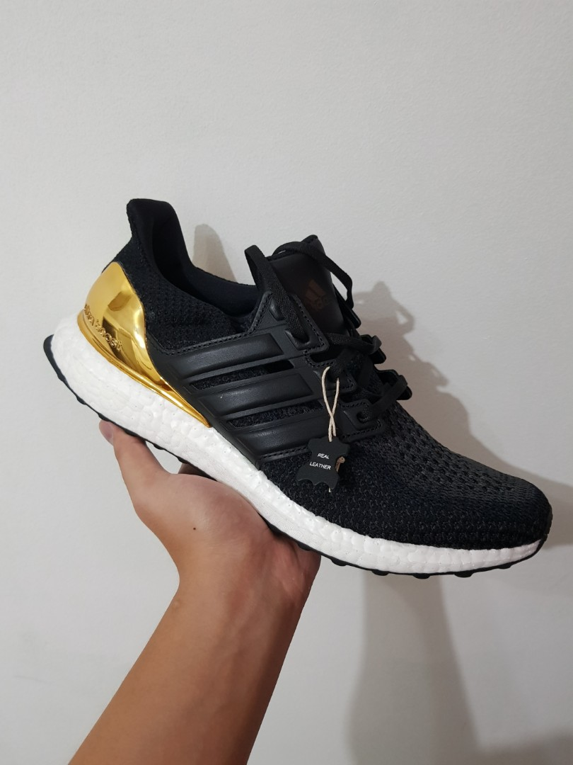 55c697e0e Adidas Ultra Boost 2.0 Gold Medal US 14