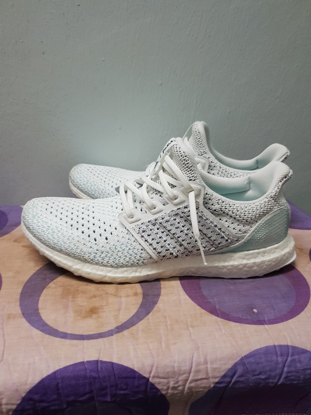 the latest b6998 0354a Adidas UltraBoost 4.0 Parley Clima Cloud White