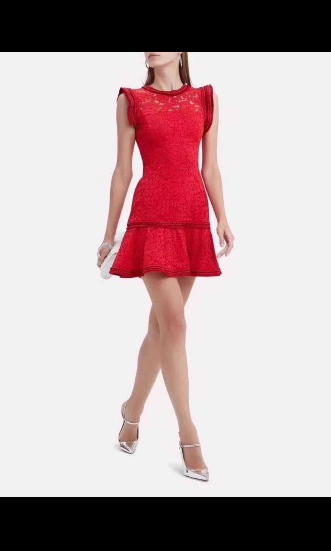 5b87c51e41e Alexis red lace dress cny
