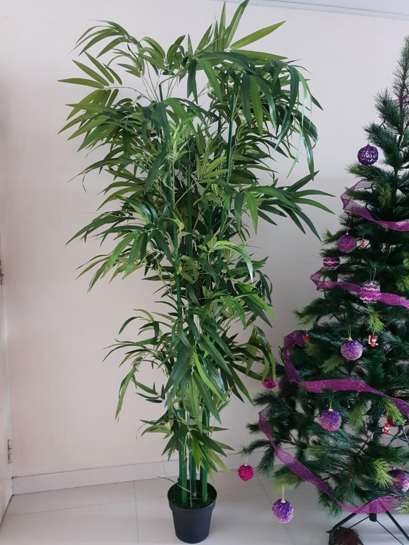 Artificial Plant 6 To 9 Feet Natural Looking Bamboo Plant