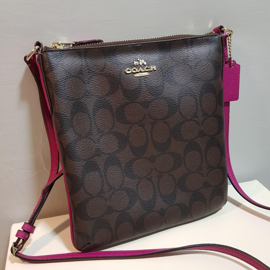 5d89e98542cb Authentic Coach Crossbody Bag