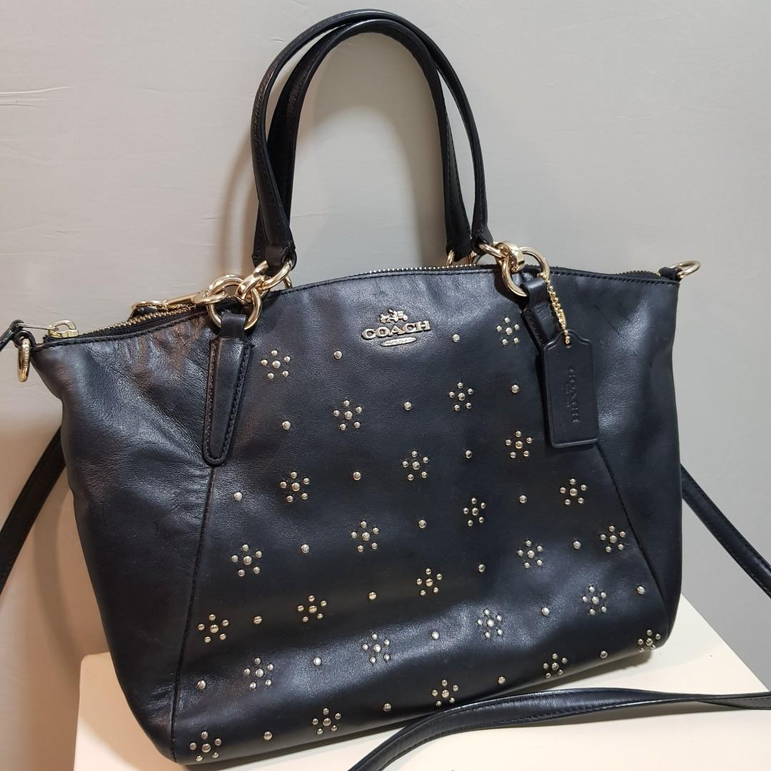 Authentic Coach Two Way Carry Bag