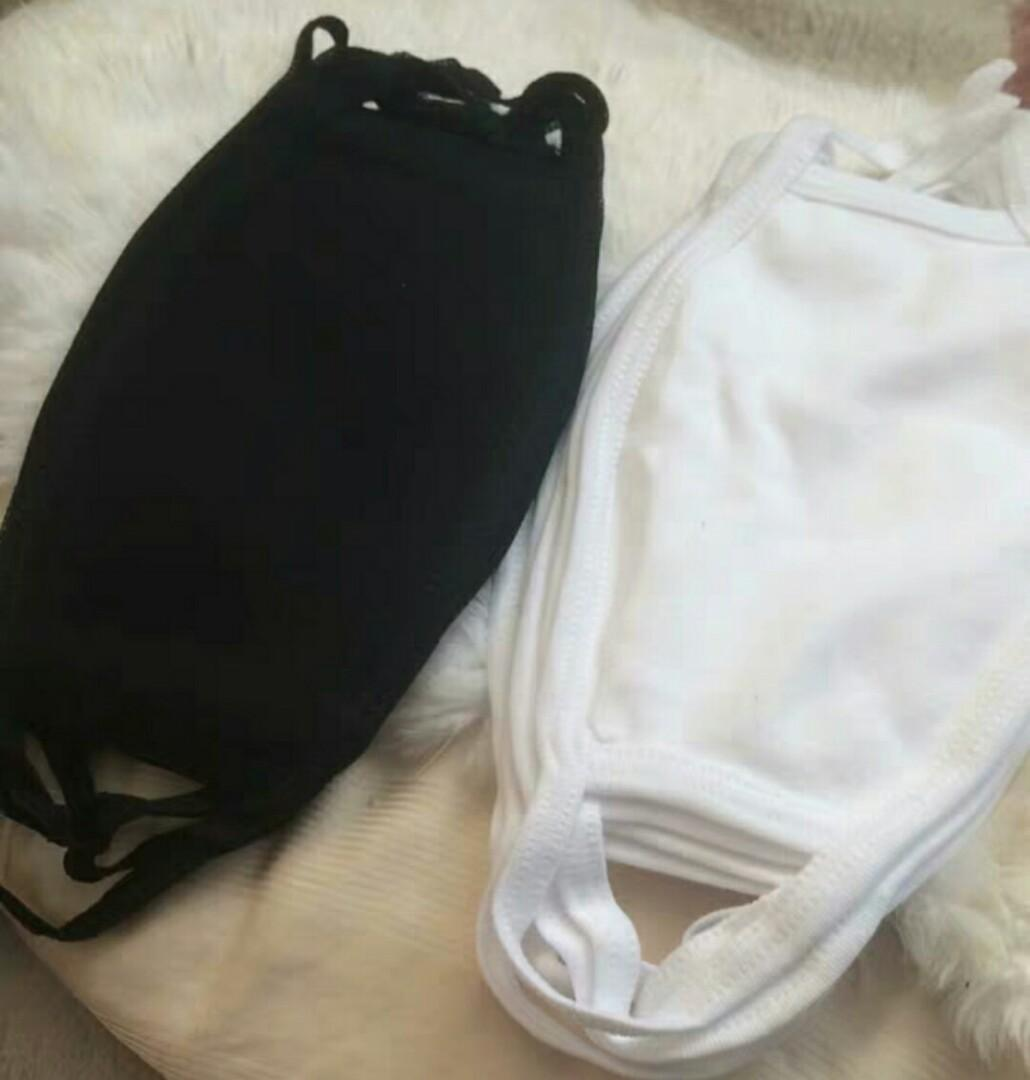 BN Cotton Face Mask (Black only)