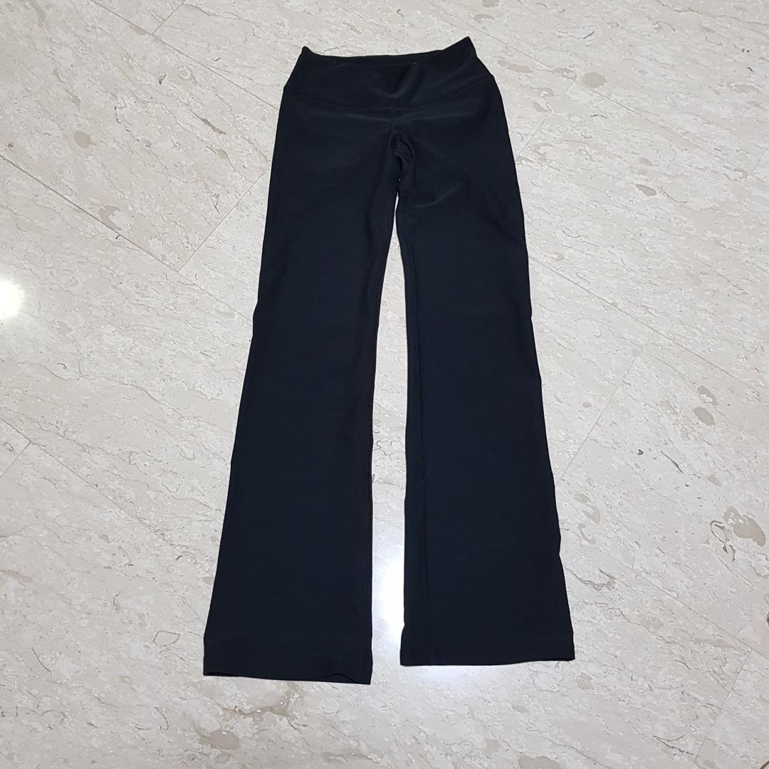 d1baa5ba55cda0 BN: Nike flare yoga pants, Women's Fashion, Clothes, Pants, Jeans & Shorts  on Carousell