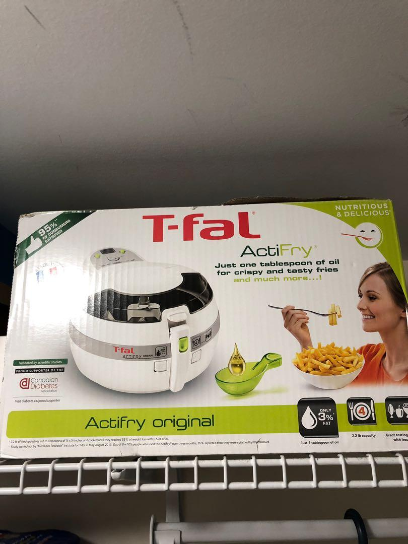 Brand New T Fal Actifry in White (2.2lb)
