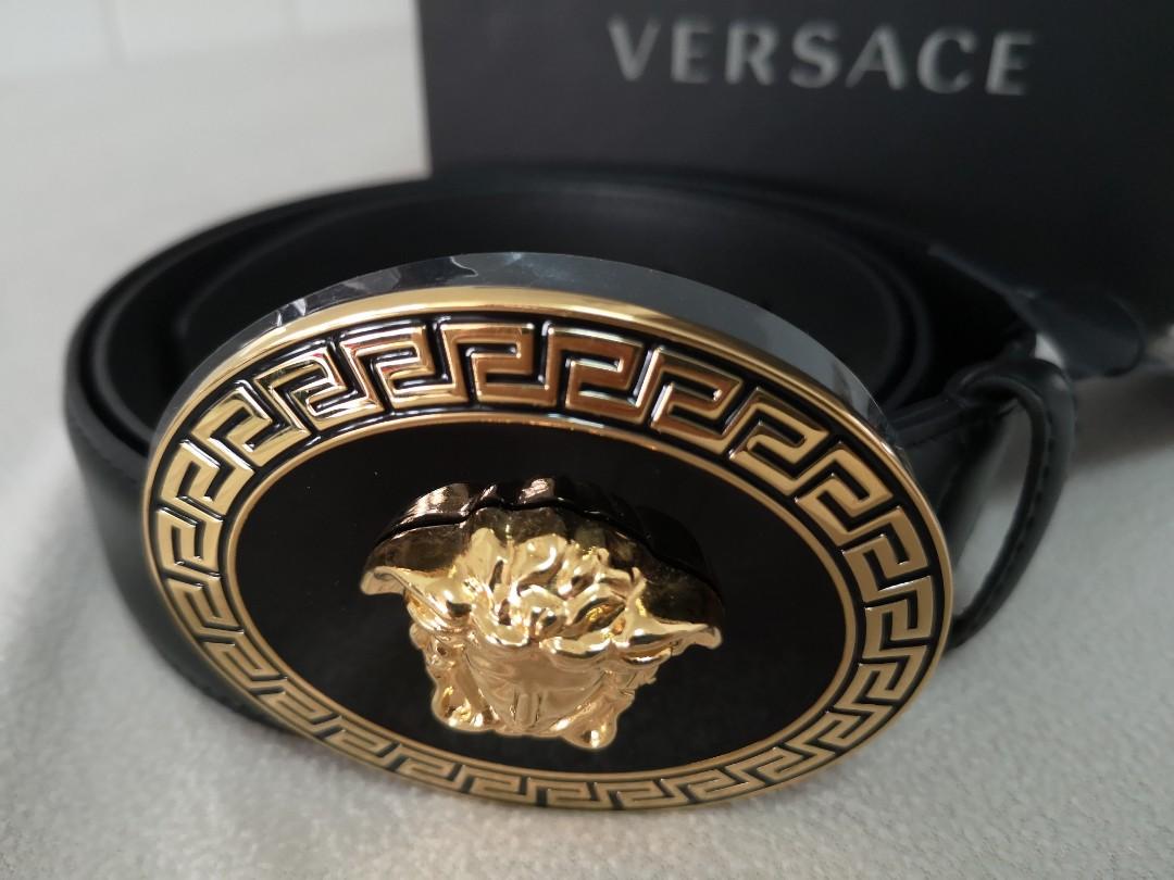 fdb7b136b38 Brand New Versace Unisex Belt, Luxury, Accessories, Belts on Carousell