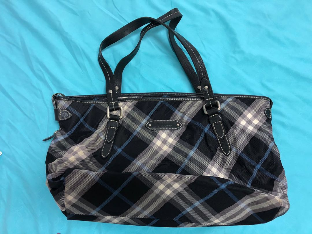 Burberry Blue Label Bag, Women s Fashion, Bags   Wallets, Sling Bags ... 6dbb40f2d9