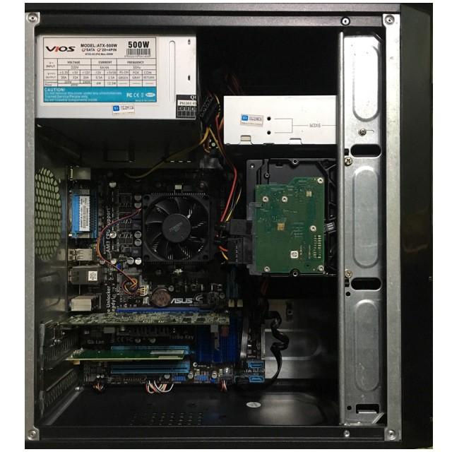 🎉CLEARANCE SALE🎉 AMD Custom CPU w/ WIFI Budget Gaming / School / Work  Desktop PC + 500GB HDD + 4GB DDR3 RAM + AMD Radeon HD 5450 + Free MS