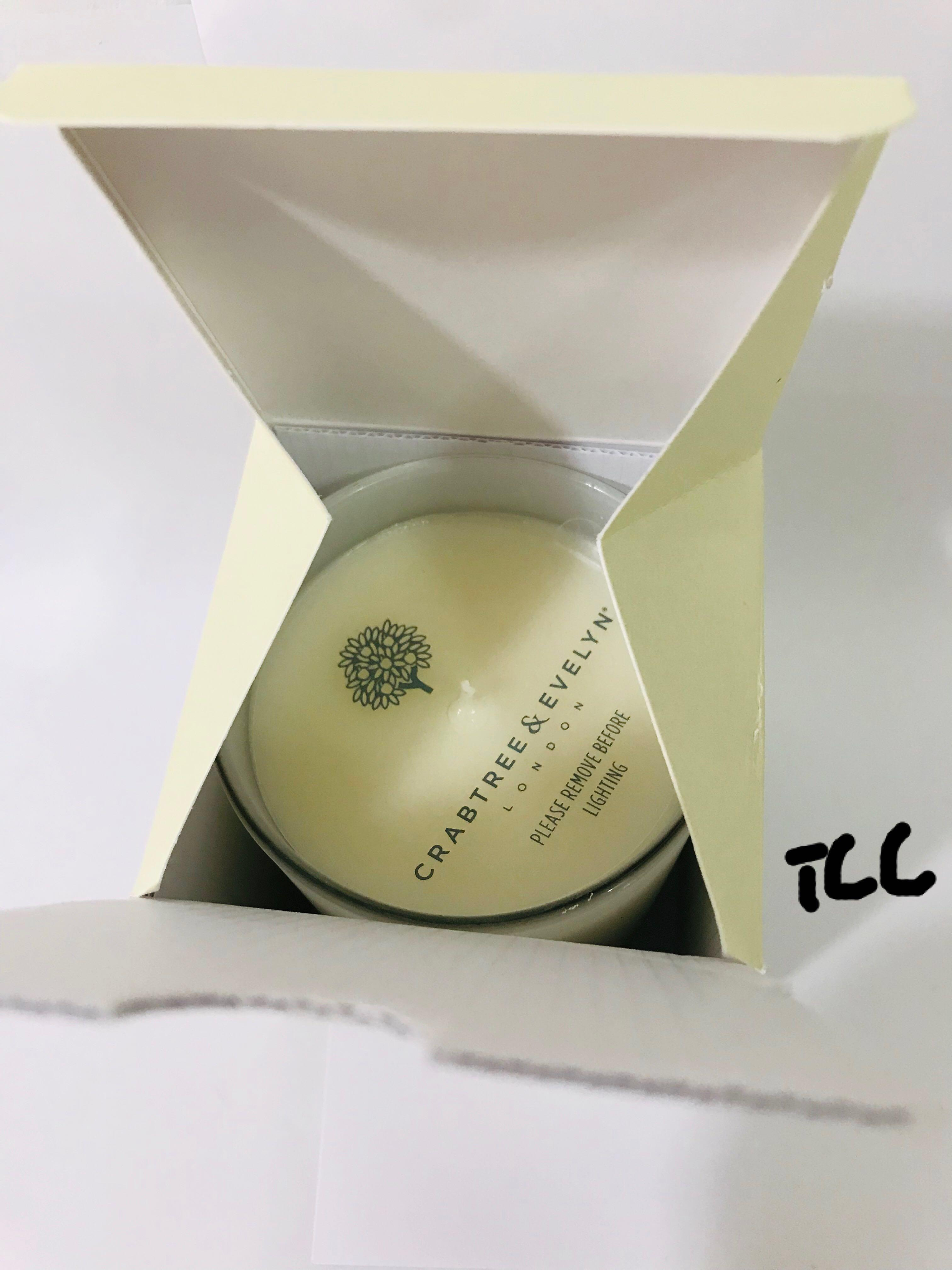200 g Crabtree /& Evelyn CARIBBEAN ISLAND WATER LILY Fragranced Candle 7.1 oz