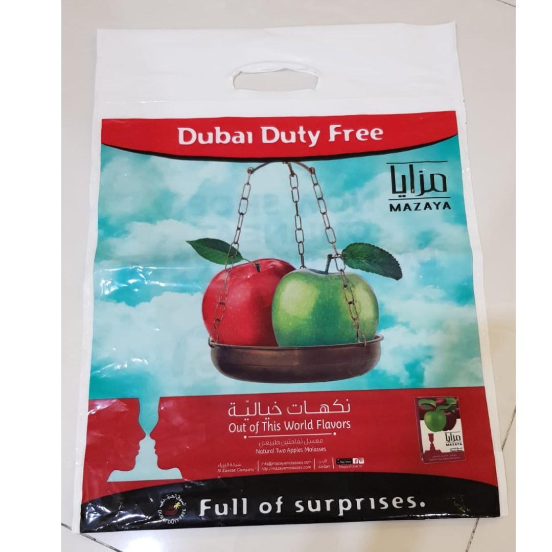 Dubai Duty Free Small Medium Sized Plastic Bag Everything