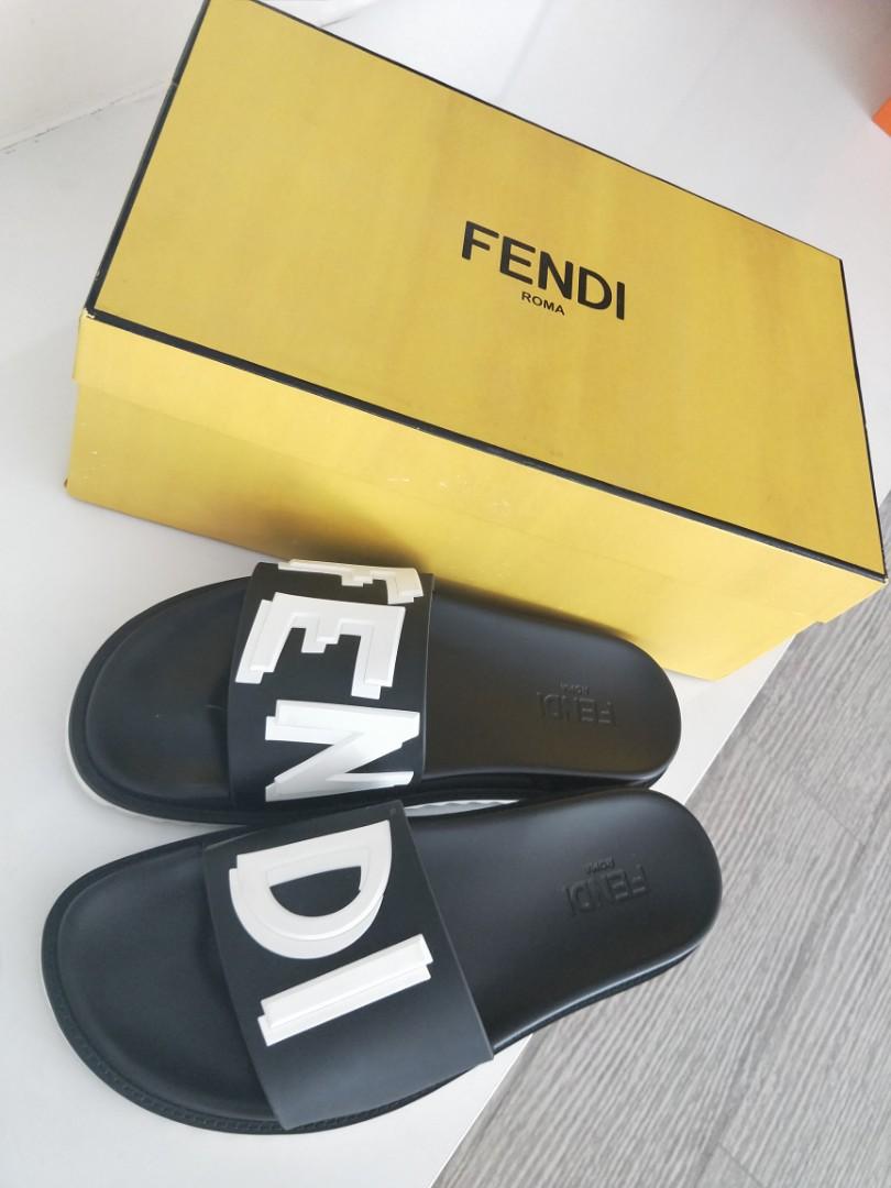 10cfd29bb Fendi Sandals For Man, Men's Fashion, Footwear, Slippers & Sandals ...