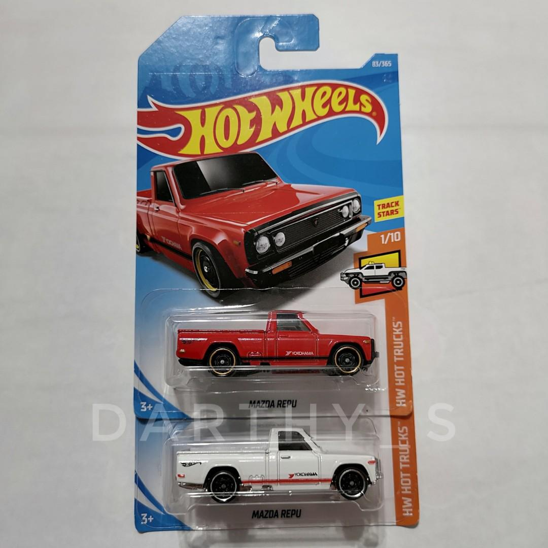 Hot Wheels Mazda Repu set (2018 card)