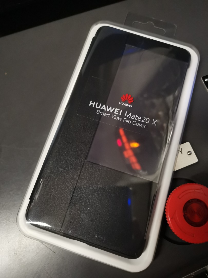 buy online 3945d f8683 Huawei mate 20 x smart view flip cover case