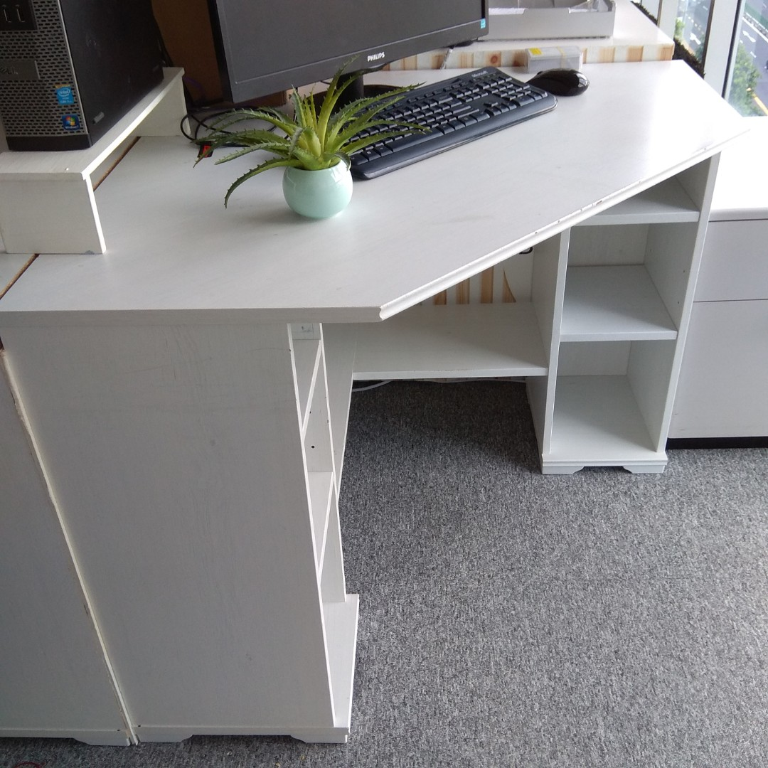 Ikea Borgsjo Corner Desk Furniture Tables Chairs On Carousell