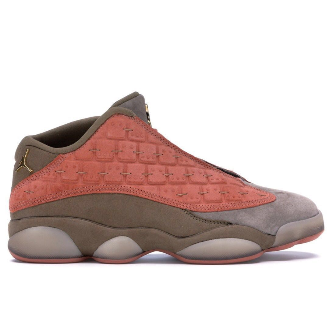 c64d8bd3a05283 💯 IN TRANSIT-US 4.5  Nike Air Jordan 13 Retro Low Clot Sepia Stone ...