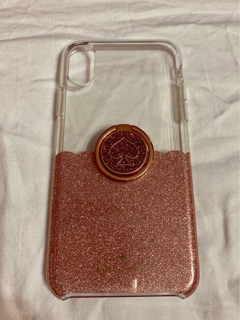 kate spade iphone x case with ring
