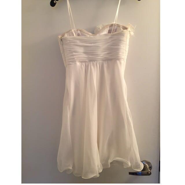 La Femme strapless Dress