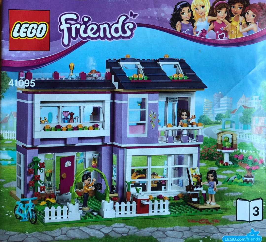 Lego Friends House Toys Games Bricks Figurines On Carousell