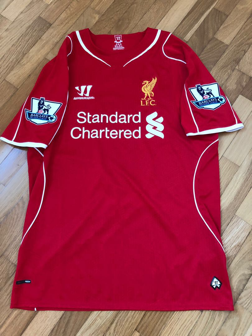 194d7d242 Liverpool Jersey with Name and No