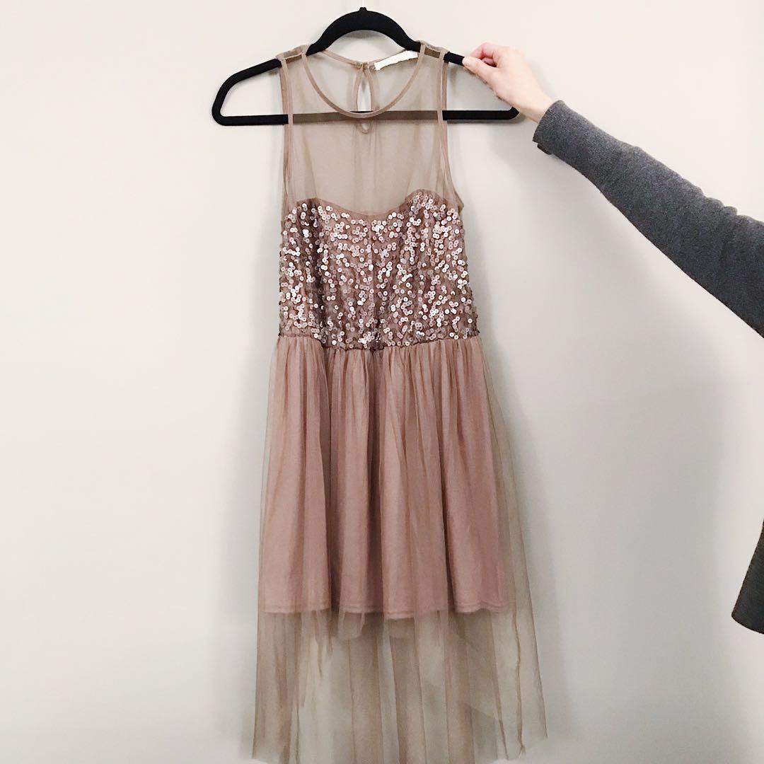 Lush Sequin Dress (Size M)