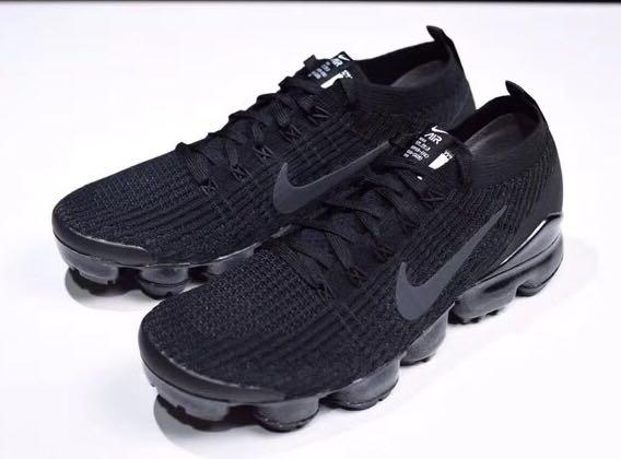 the best attitude 7459a d59e9 Nike Air VaporMax Flyknit 3.0 Black, Men's Fashion, Footwear ...