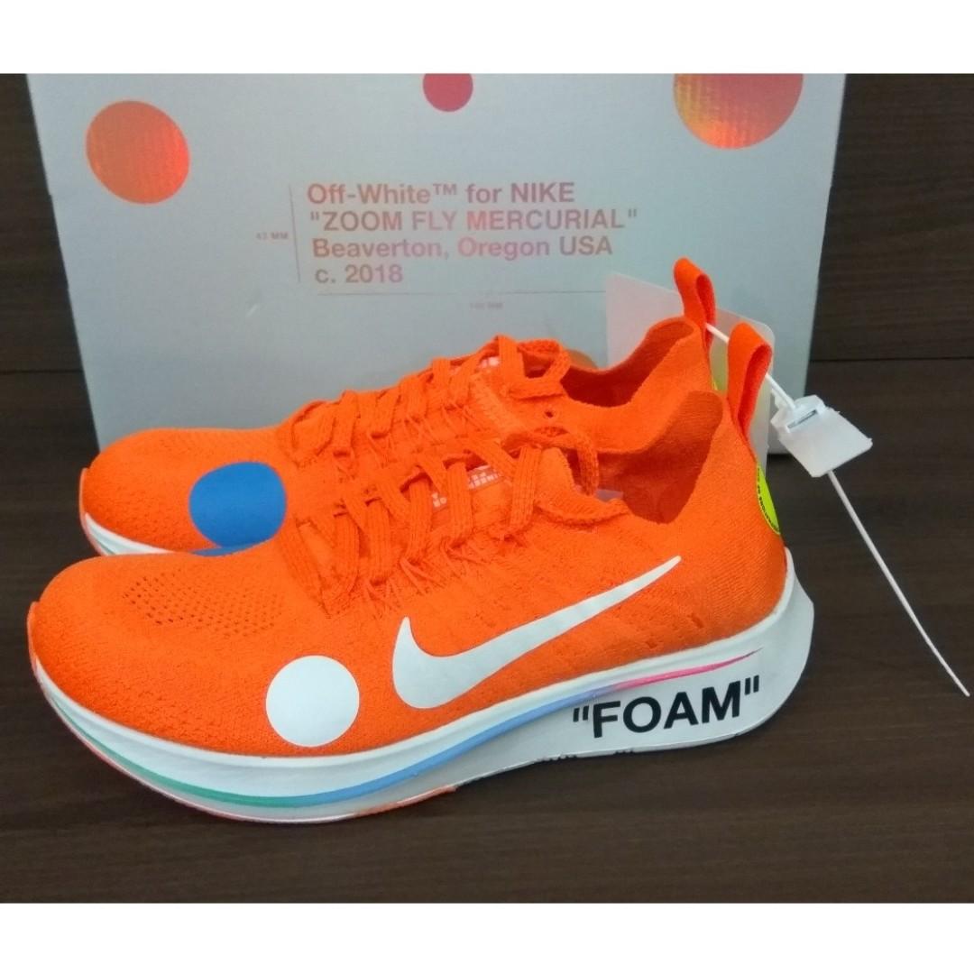 f6f98906476f29 Nike X Off-White Zoom Fly Mercurial Total Orange