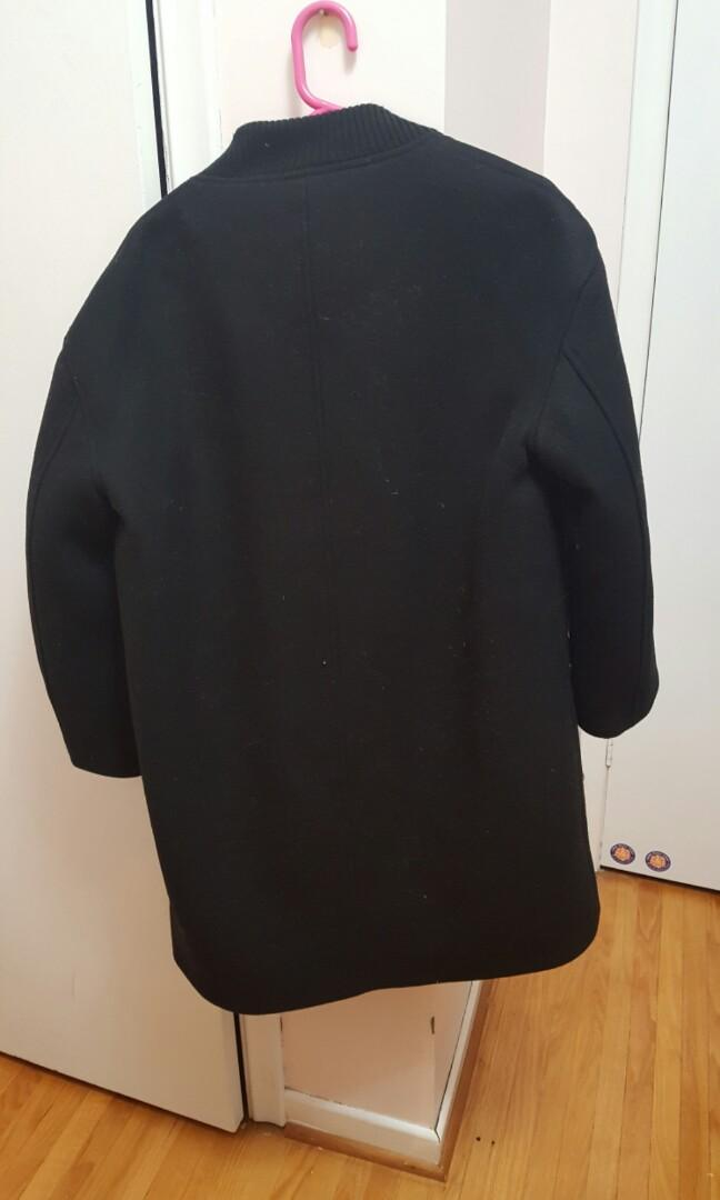 OAK AND FORT SIZE SMALL Black Coat