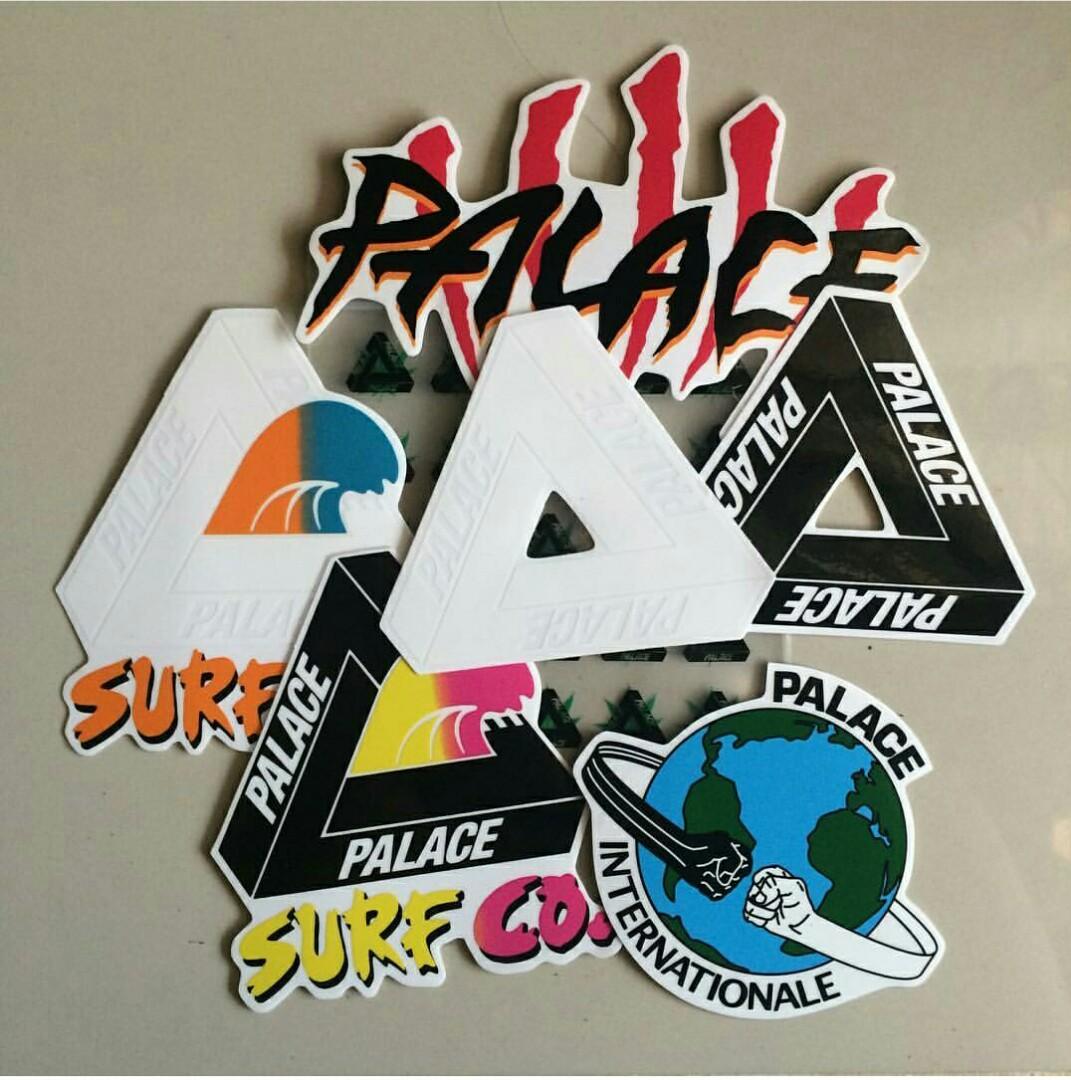 5dd308f7e5d4 Palace Skateboards sticker pack