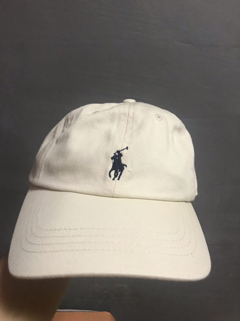 b9e0d17bbb3 Polo Ralph Lauren Baseball Cap Cream