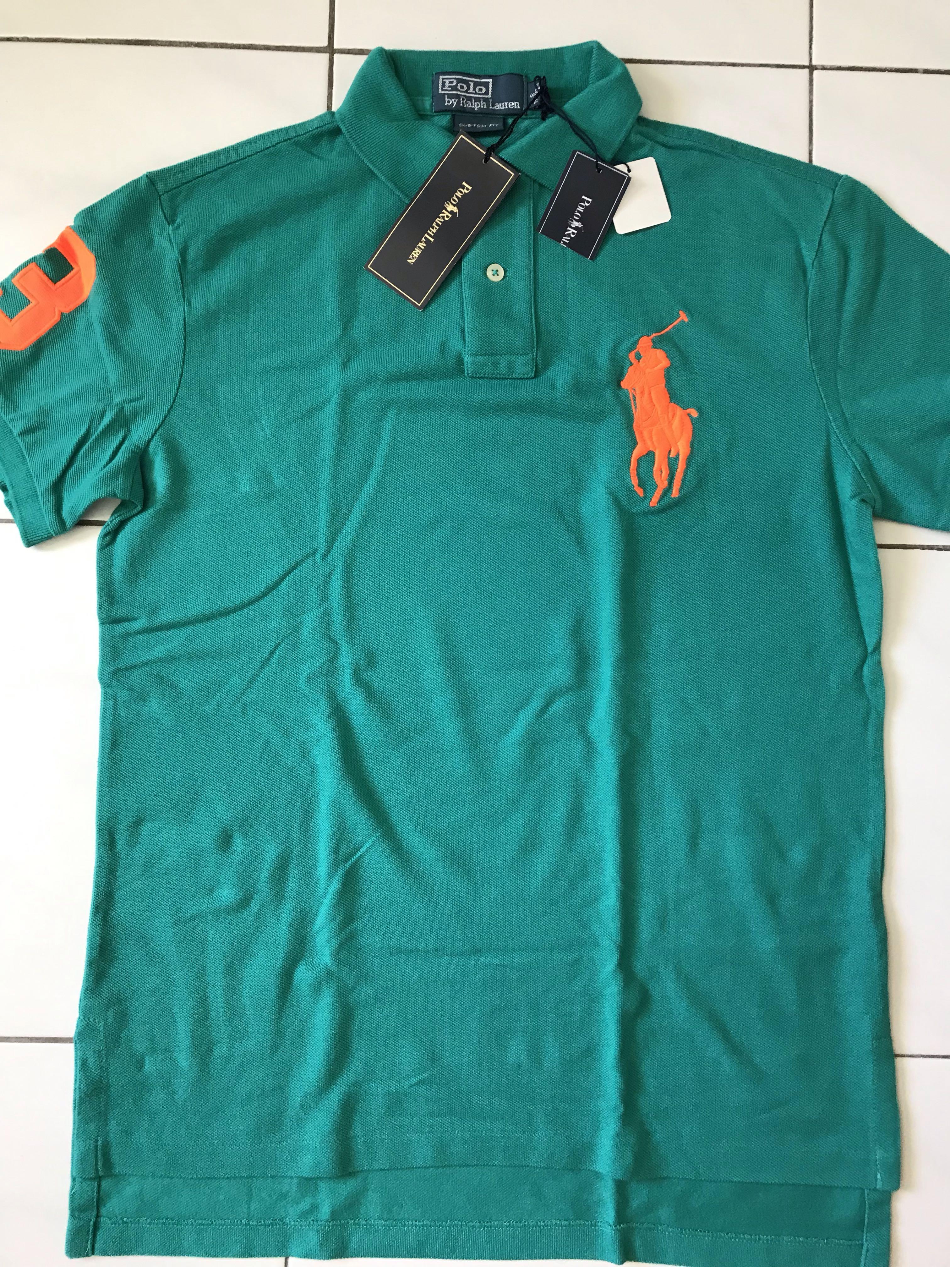 9d2f03ceeb20 Polo Ralph Lauren custom fit polo t-shirt men polo t-shirt