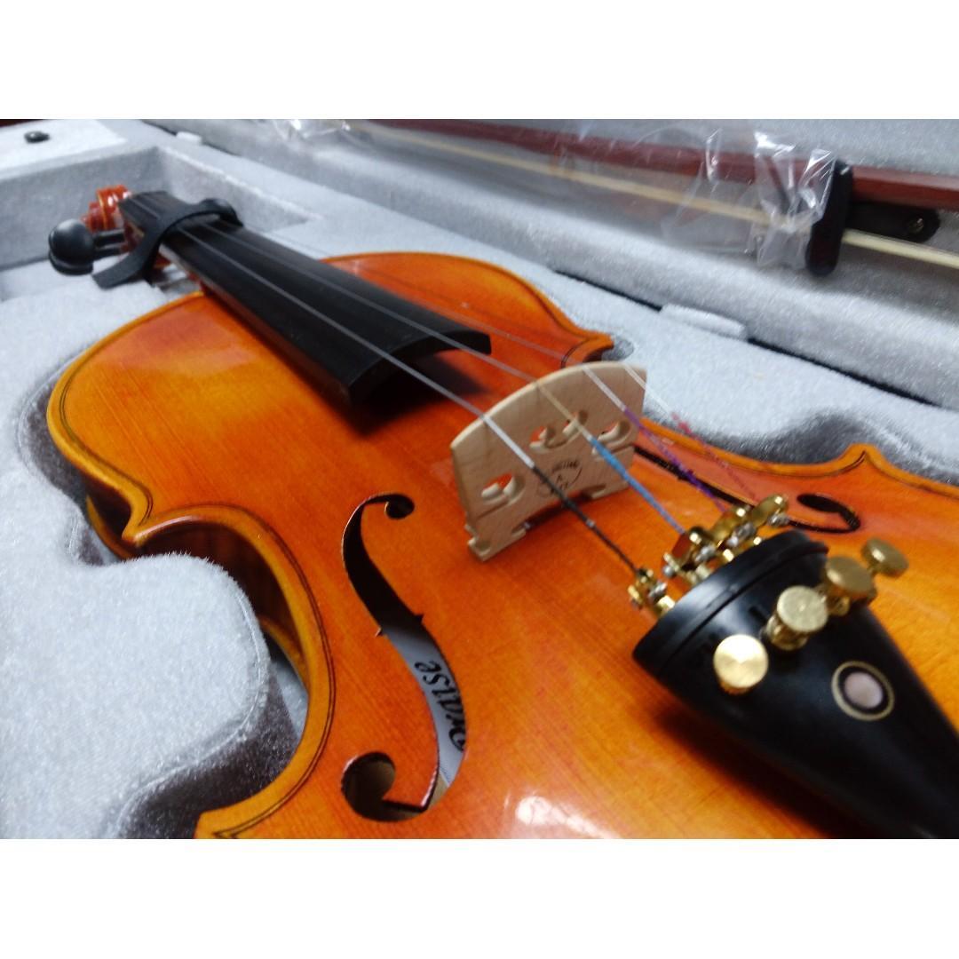 Praise Violin 4/4(AY009)全新實木手工小提琴