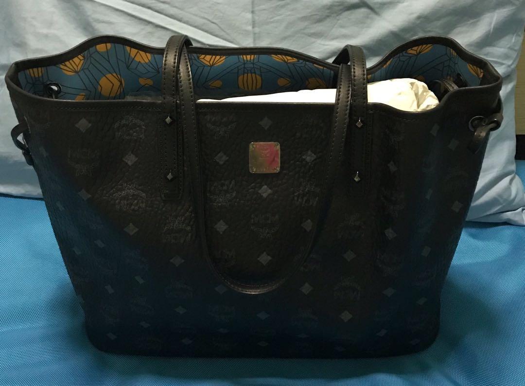 376094e5161c0b Preloved] MCM tote bag, Women's Fashion, Bags & Wallets, Handbags on ...