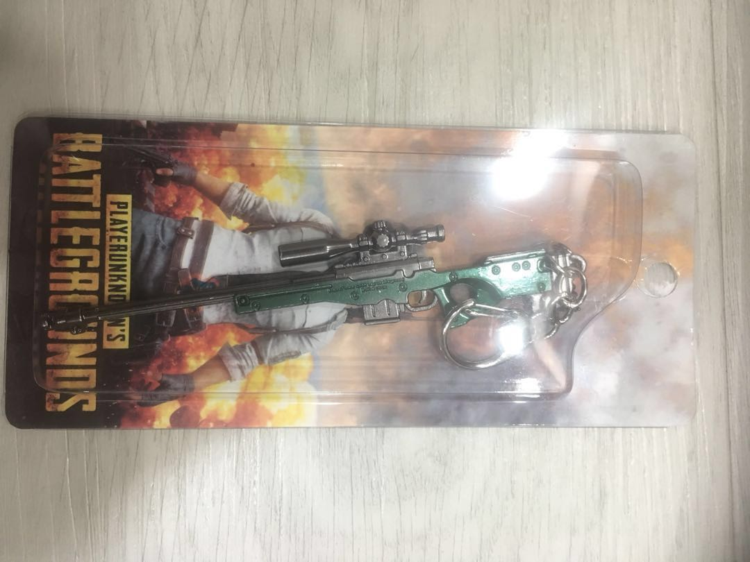 Pubg Awm Awp Arctic Sniper Rifle Keychain Toys Games Others On