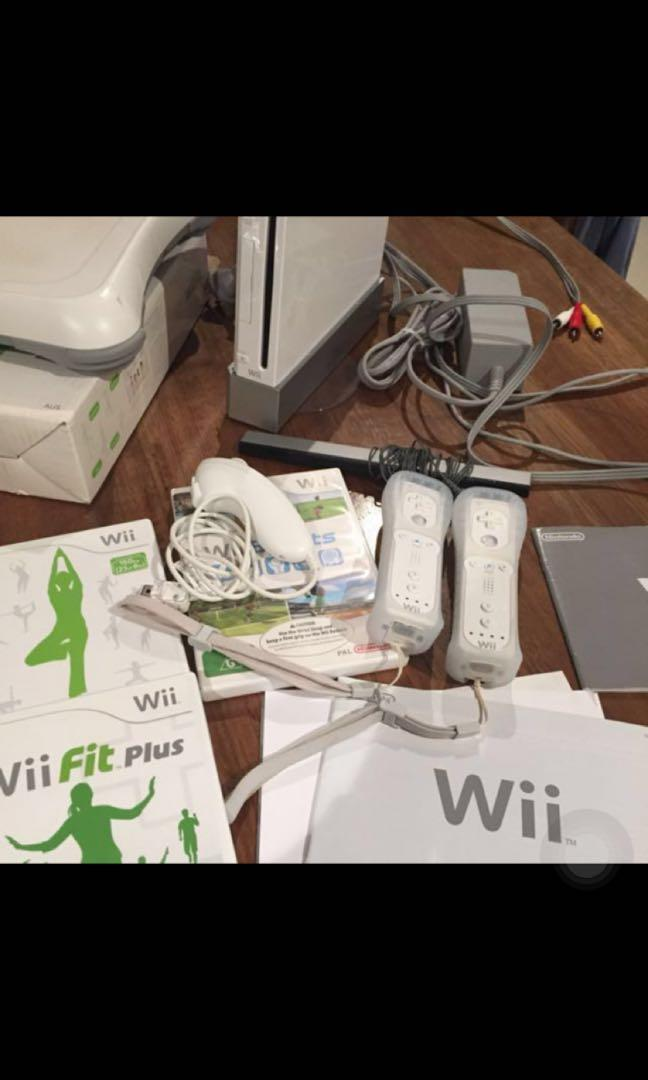 QUICK SALE  - Nintendo Wii Bundle
