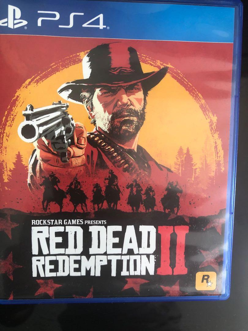 Red dead redemption 2 ps4, Toys & Games, Video Gaming, Video