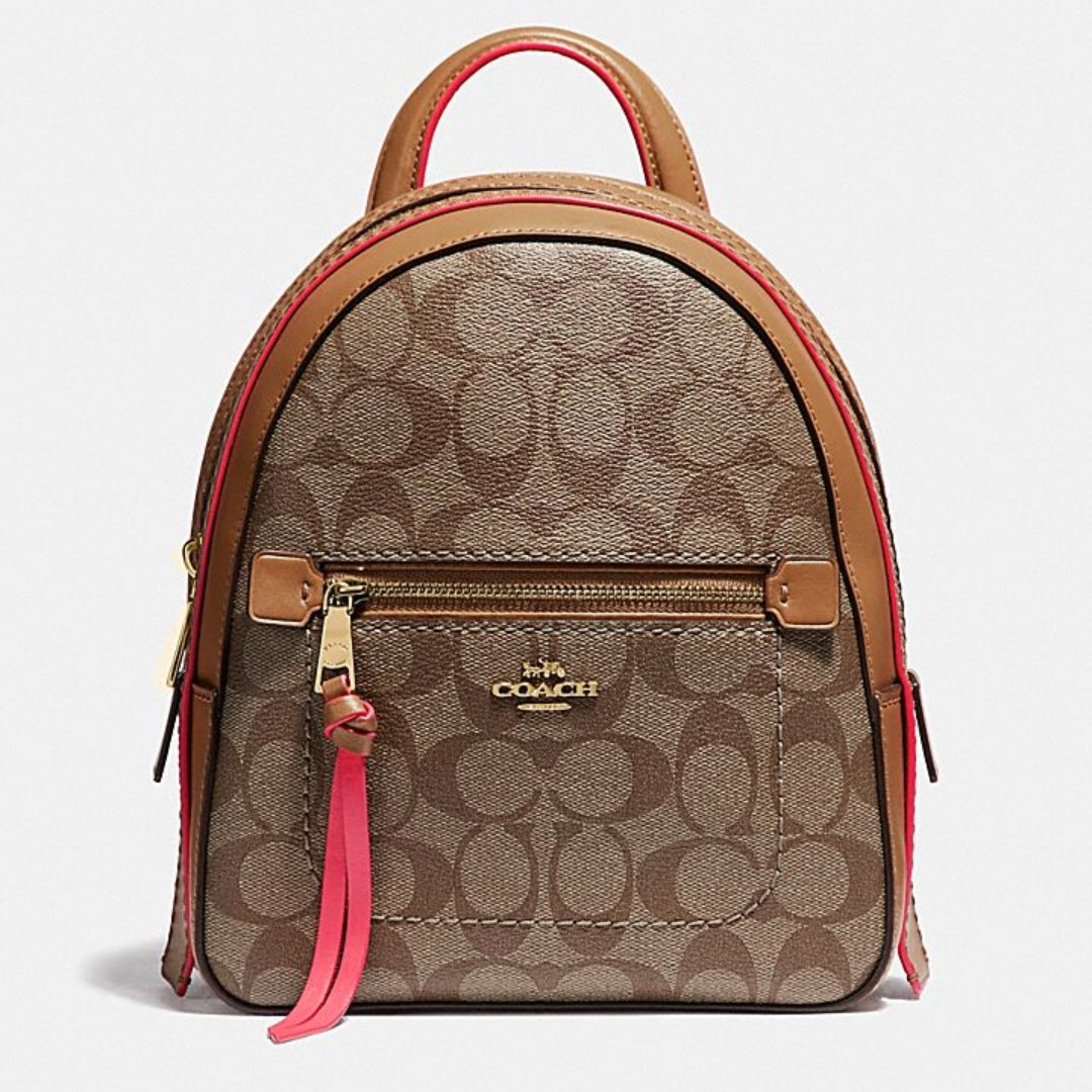 f36bbbe48ae06 RV Coach Andi Backpack In Signature Canvas