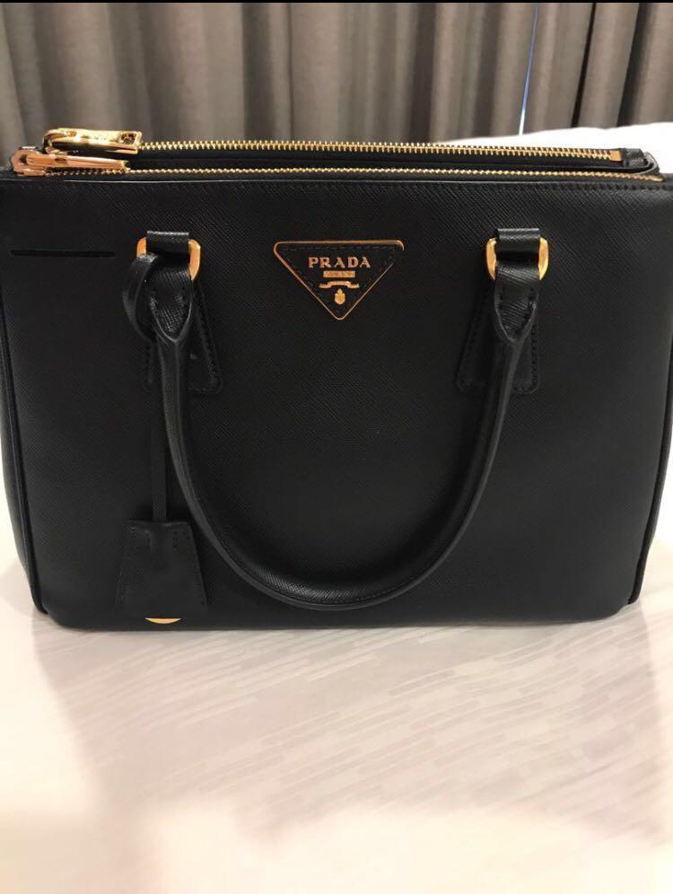 9cf1abb4066a 🌷SALE🌷Authentic Prada Saffiano Lux Black