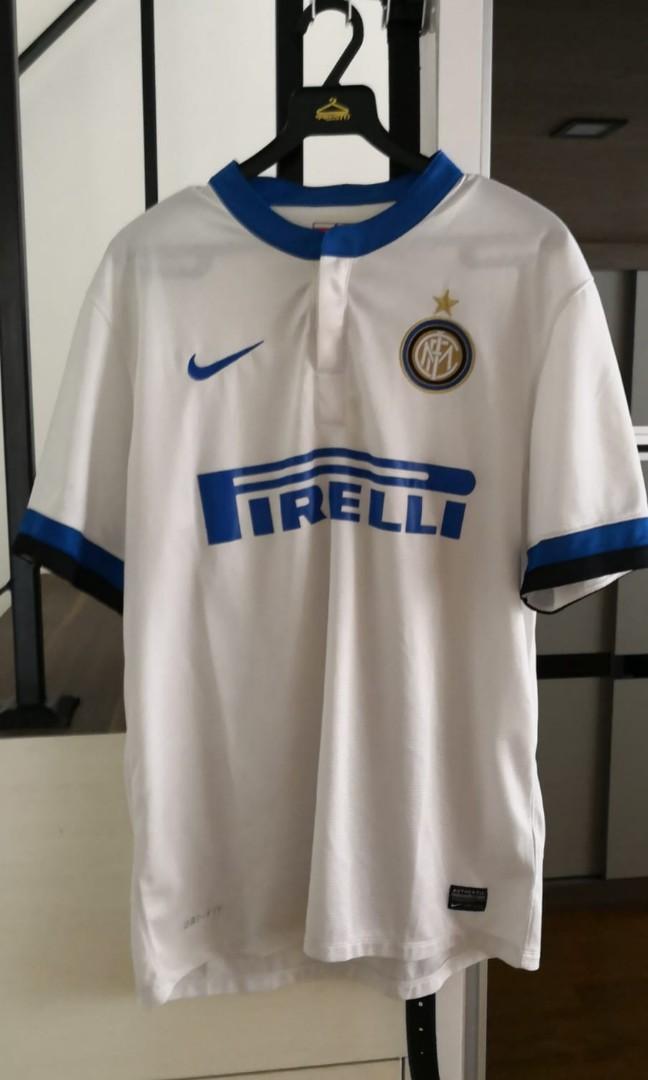 6a456ca303054 Original Nike Inter Milan Jersey Size L, Sports, Sports Apparel on ...