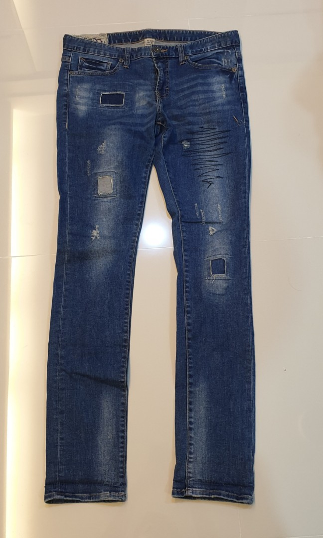 3f4fd690 Spao fasion slim fit jeans US31, Men's Fashion, Clothes, Bottoms on ...