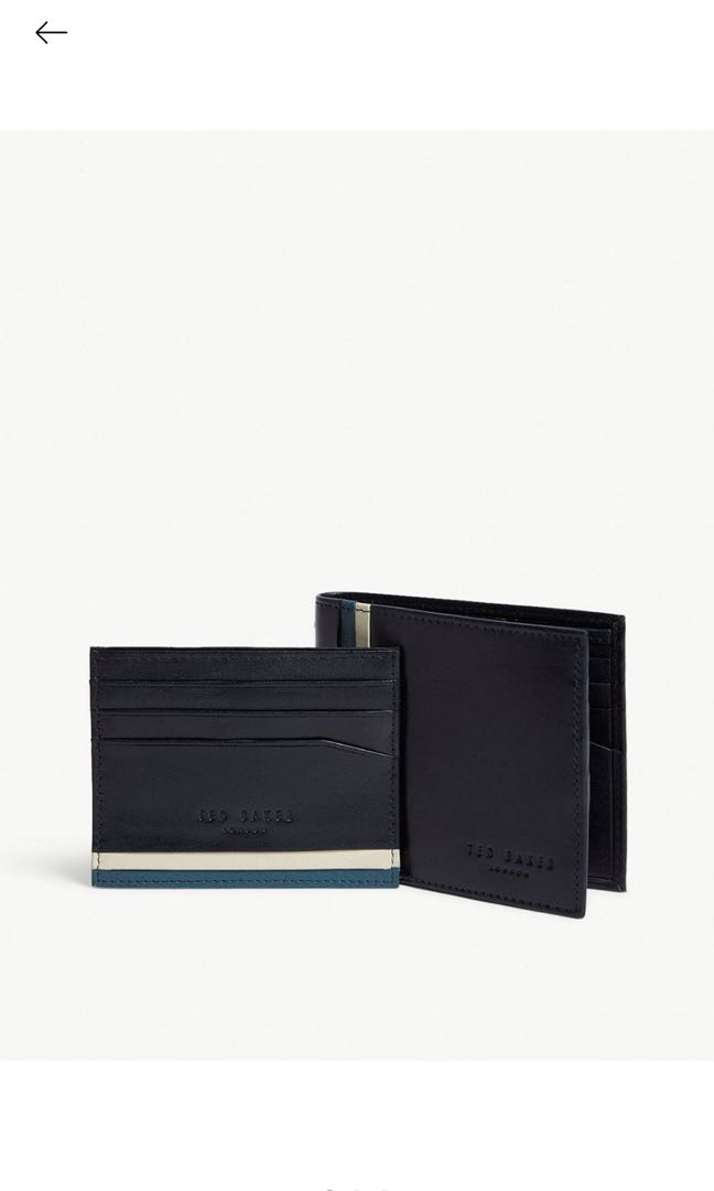 6a782fd4f Ted Baker Leather wallet and card holder