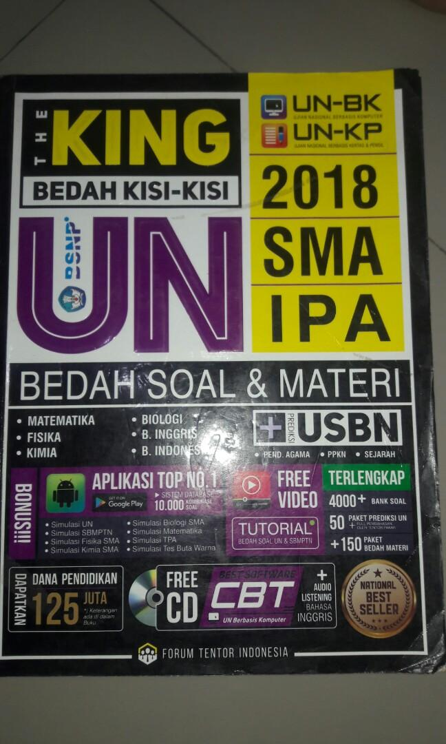 THE KING BEDAH KISI-KISI UN SMA IPA 2018