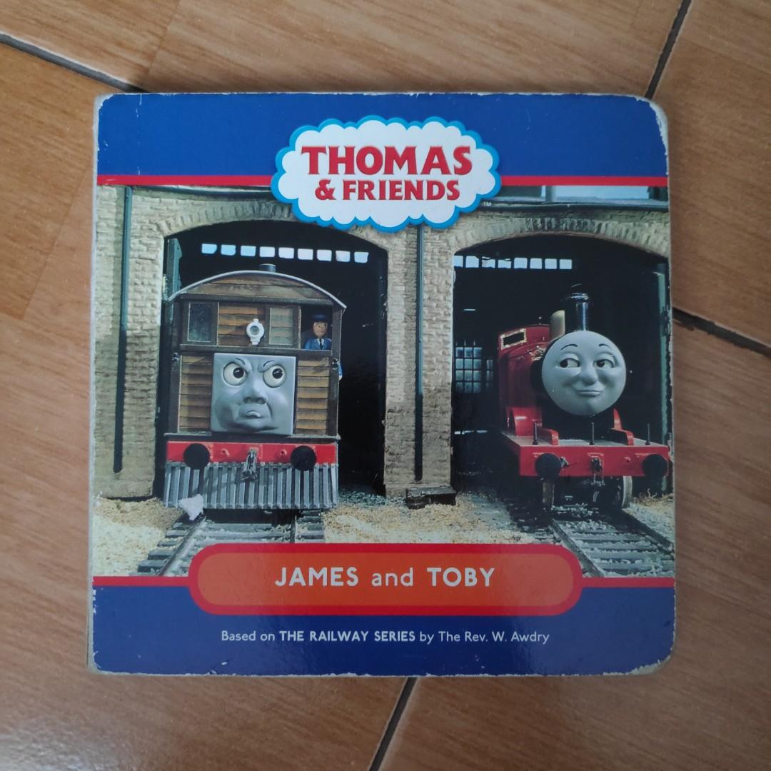 Thomas Friends James Toby Buku Alat Tulis Buku Anak Anak Di Carousell