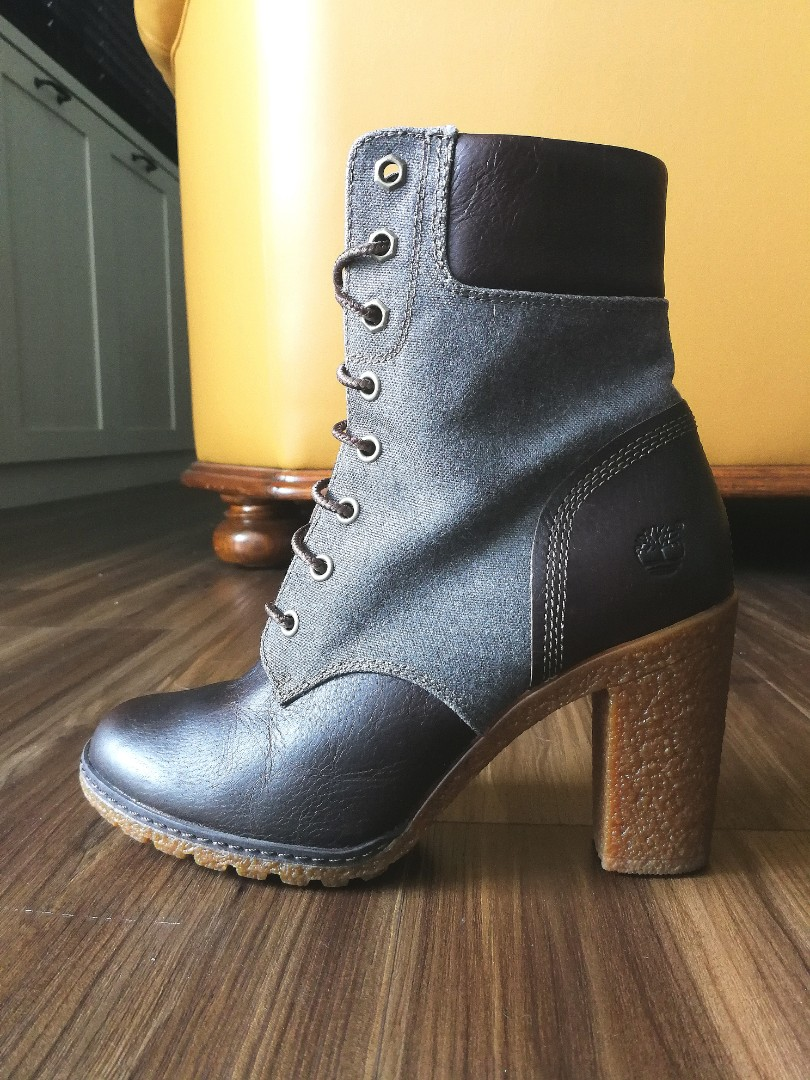 d1344684b6123 Timberland High Heel Boots - Size 37, Women's Fashion, Shoes, Boots ...