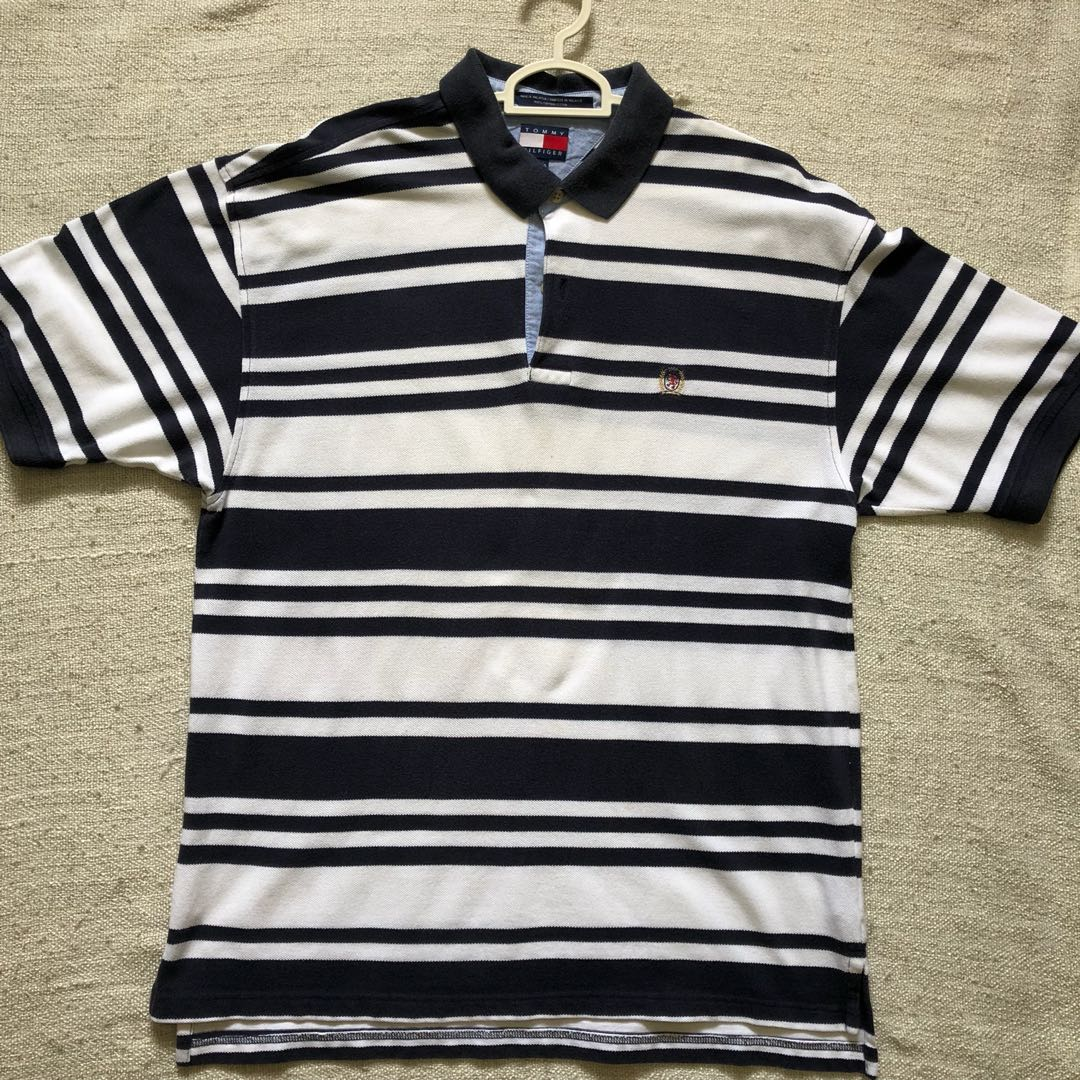 2792dc4c tommy hilfiger polo shirt, Men's Fashion, Clothes, Tops on Carousell