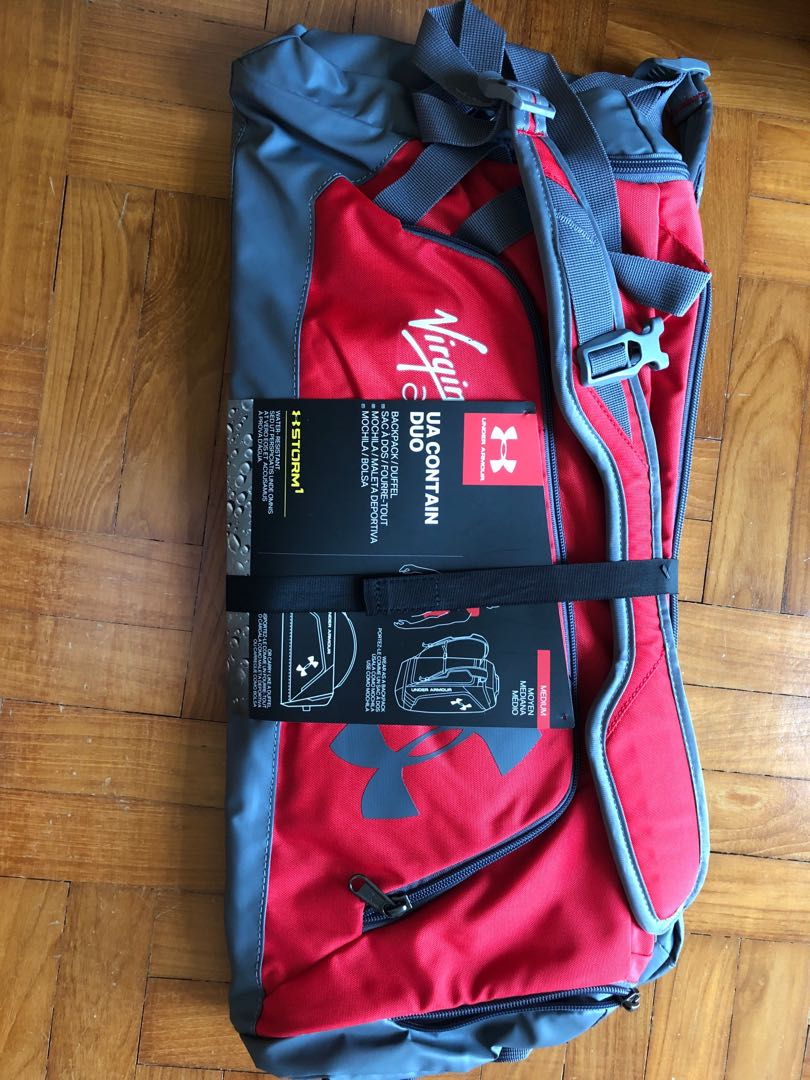 6048b7ad26931 Under Armour Contain Duo Backpack / Duffel Bag on Carousell
