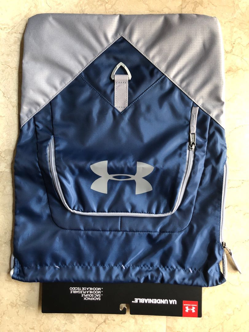 dfe805f271 Under Armour UA Undeniable Sackpack, Sports, Sports Apparel on Carousell