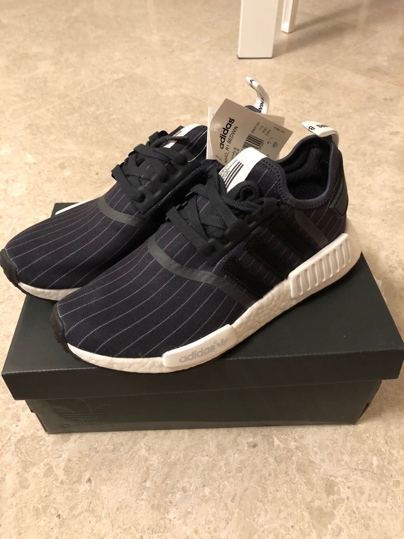 45d367e37 US8 Adidas NMD R1 Bedwin   the Heartbreakers Black