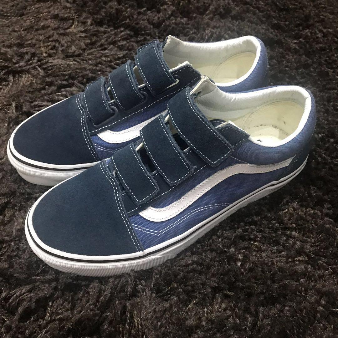 9f3a151b359 Vans Blue Sneakers US Women 8.5