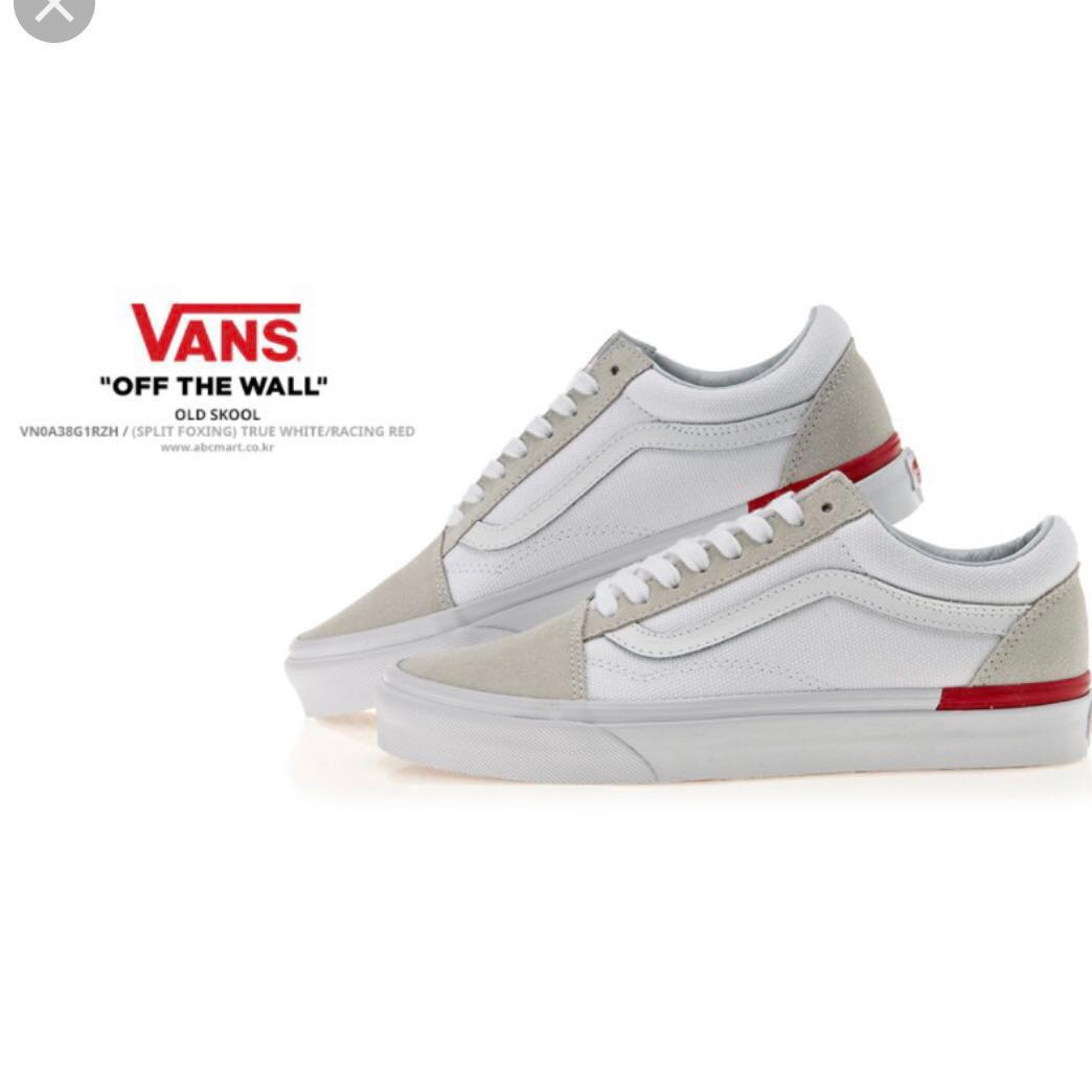 c943250f5bcf VANS OLD SKOOL SPLIT FOXING